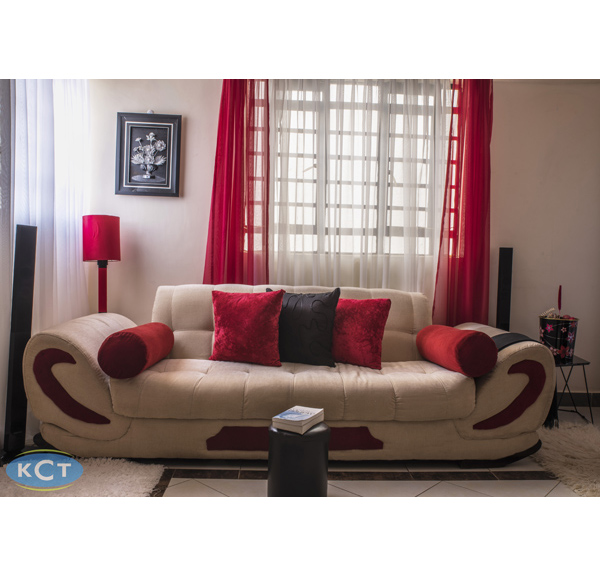 Cream 7 Seater Sofa Set Kenya Credit